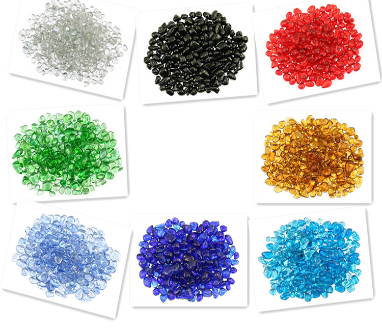 BRIGHT color glass beads